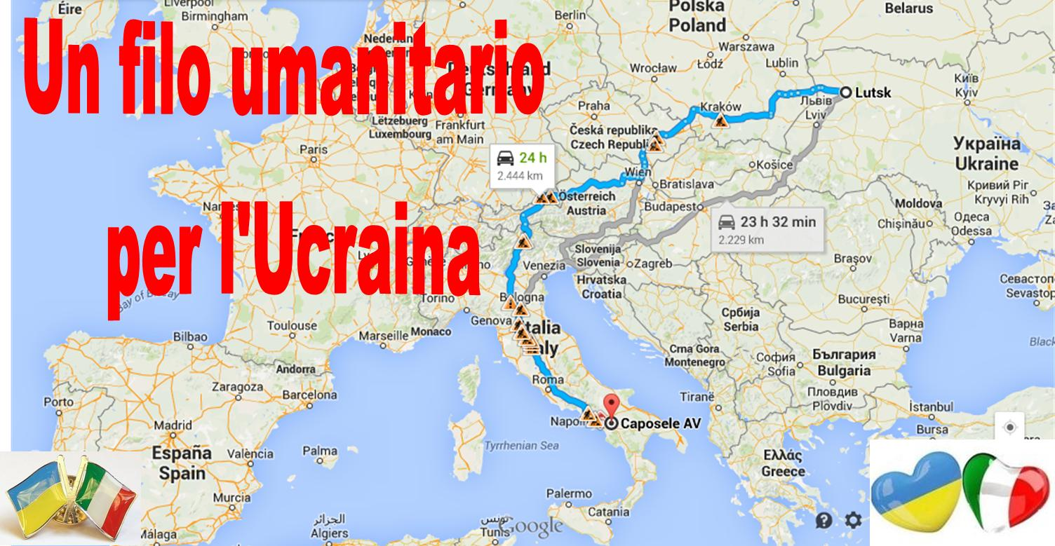 un filo umanitario per l'ucraina
